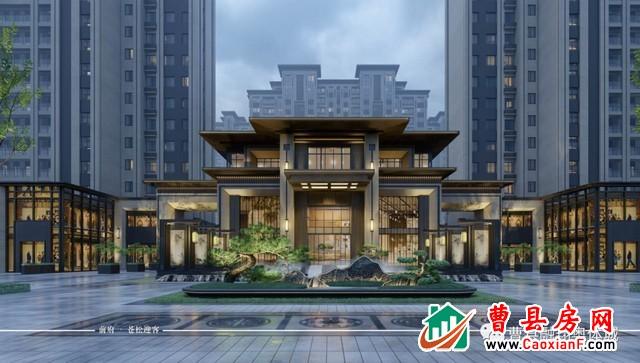融翔·奥体城 | 臻品园林,汉唐风范