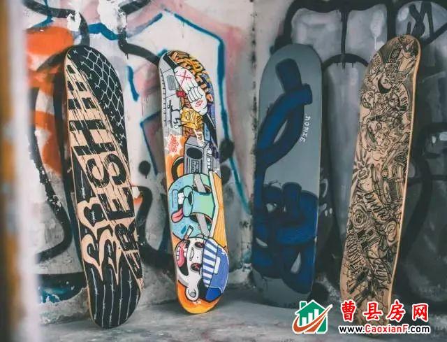 """【""""绘""""出彩 """"滑""""出众】绿城·桂语铂悦彩绘滑板DIY即将炫酷来袭"""